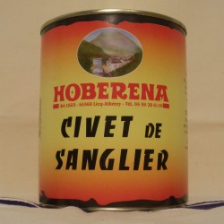 Civet de Sanglier sauvage des Pyrénées