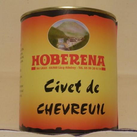 Civet de Chevreuil sauvage des Pyrénées