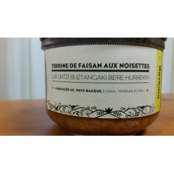 Terrine de Faisan aux Noisettes (Charte Bazkaïa)