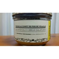La Terrine au confit de foie de volaille (Charte Bazkaïa)