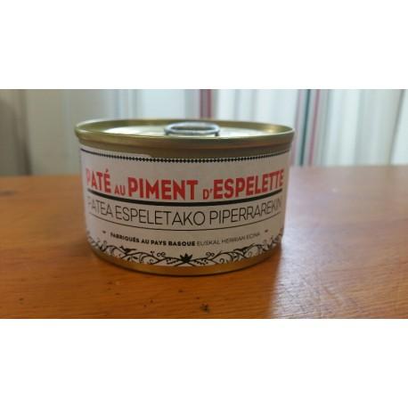Pâté Bazkaïa au piment d'Espelette