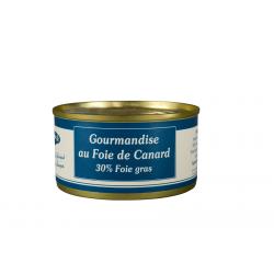 Gourmandise de Canard au foie gras de canard 20%