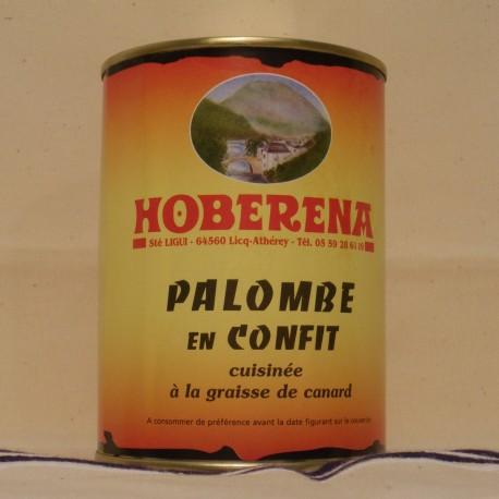 Palombe confite à la Graisse de Canard
