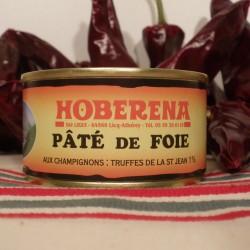 Pâté de foie pur porc truffé 1%