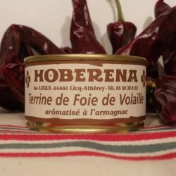 Pâté de foie de volaille aromatisé à l'Armagnac